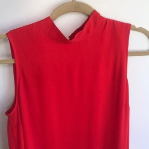 Kensie Mock Neck Dress